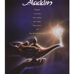 Poster of Disney movie Aladdin