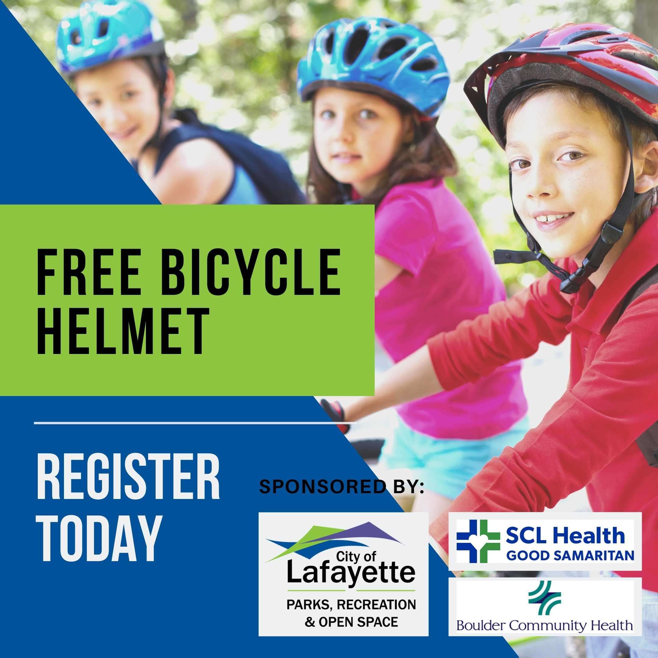 free bicycle helmet