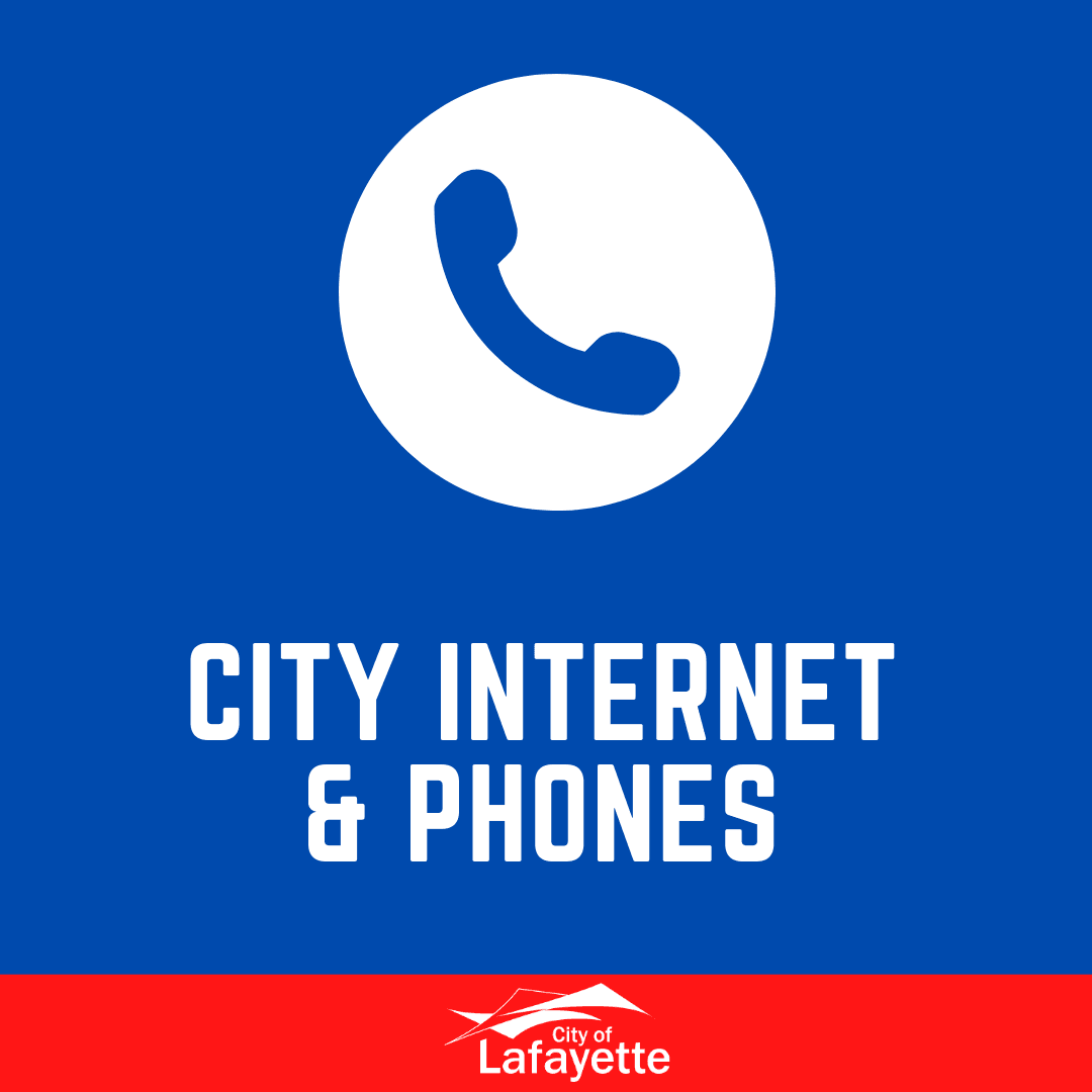 City internet and phones