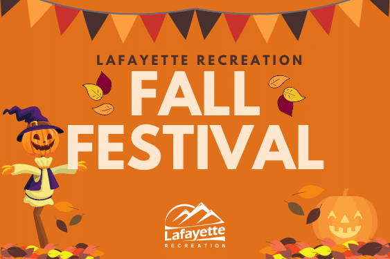 Lafayette Recreation's Fall Festival