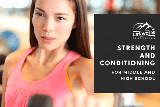 Strength & Conditioning for Middle and High School