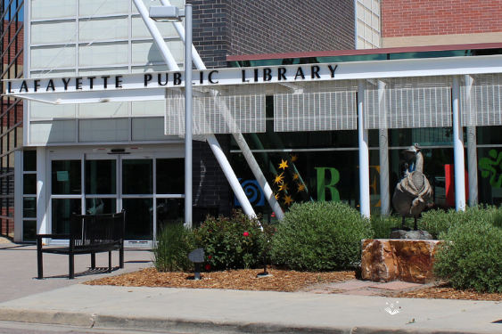 News and information about the Lafayette Public Library in Colorado