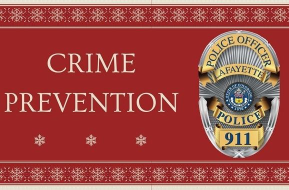Holilday Season Crime Prevention Tips