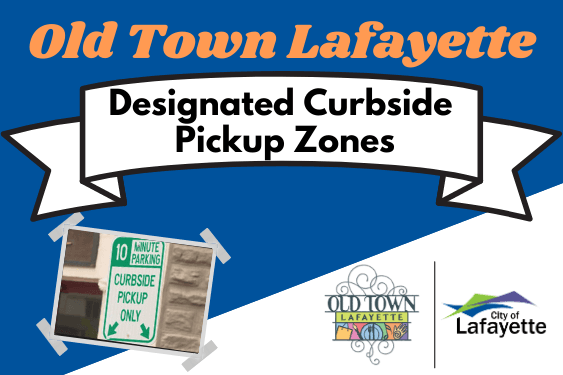 Designated Curbside Pickup Zones