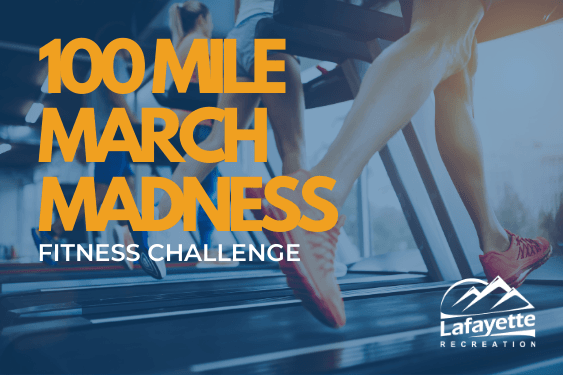 100 Mile March Madness Fitness Challenge