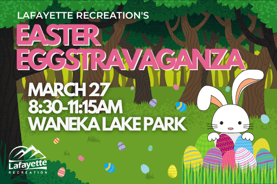 Easter Eggstravaganza, Mar. 27, Waneka Park, ages 8 and under.