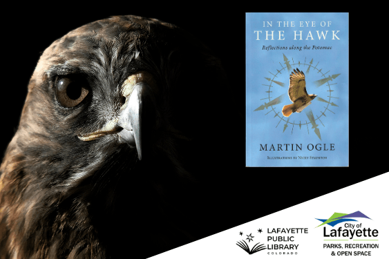 "Register for a Martin Ogle Zoom presentation, ""In the Eye of the Hawk,"" on May 20."