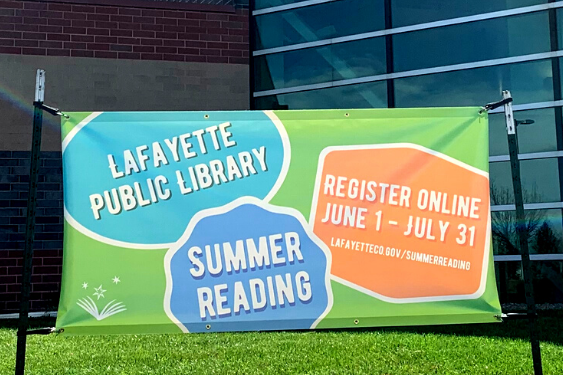 Lafayette Summer Reading 2021 for all ages is June 1-July 31