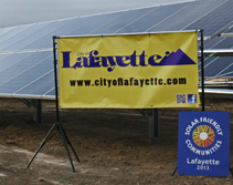 Clean energy generation in Lafayette