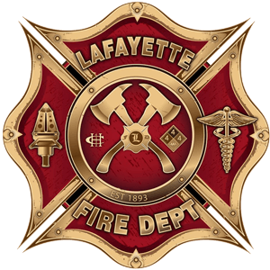City of Lafayette, Colorado Fire Department Logo