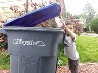 Lafayette recycle bin 200