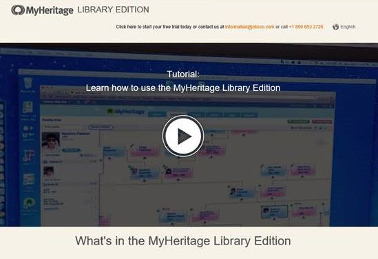 MyHeritage Not Logged In