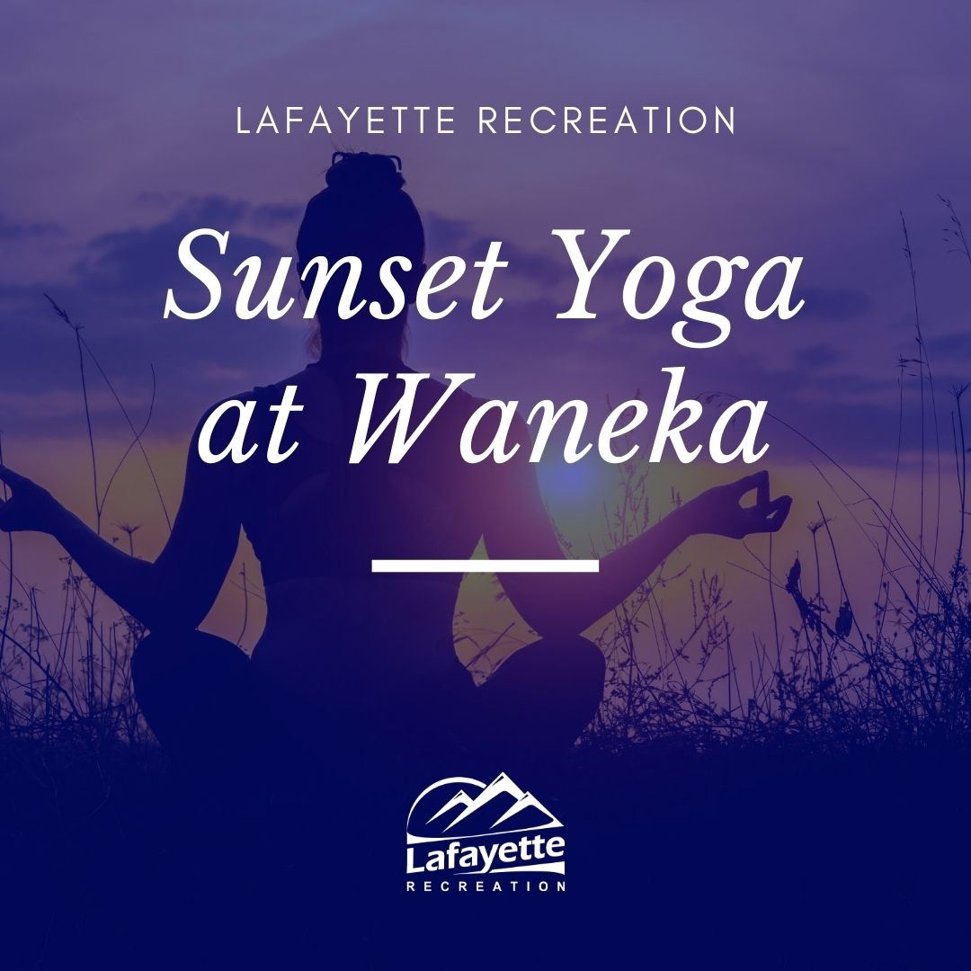 Sunset Yoga at Waneka