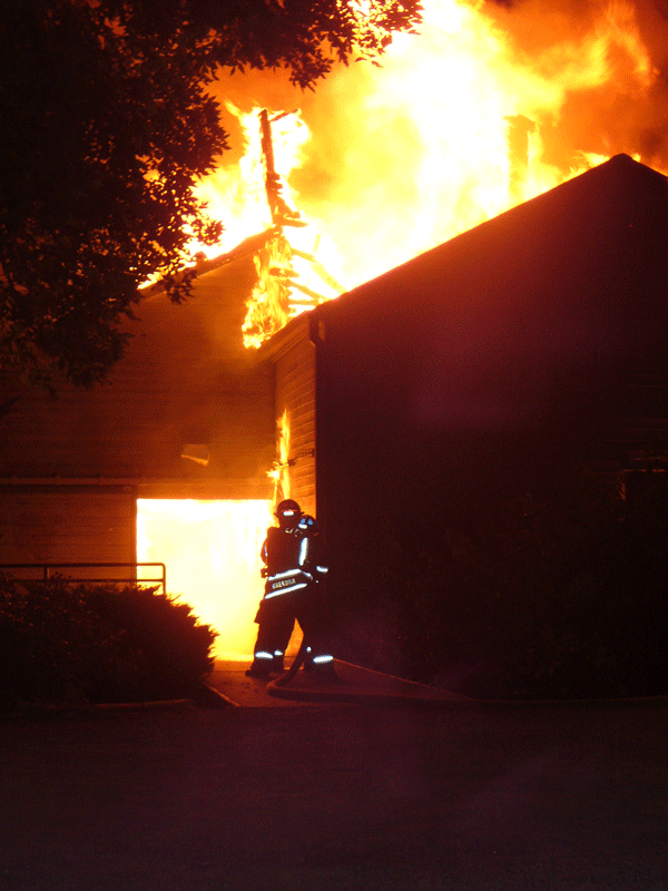 2007 boat house fire Krekora and Rohde making an attack