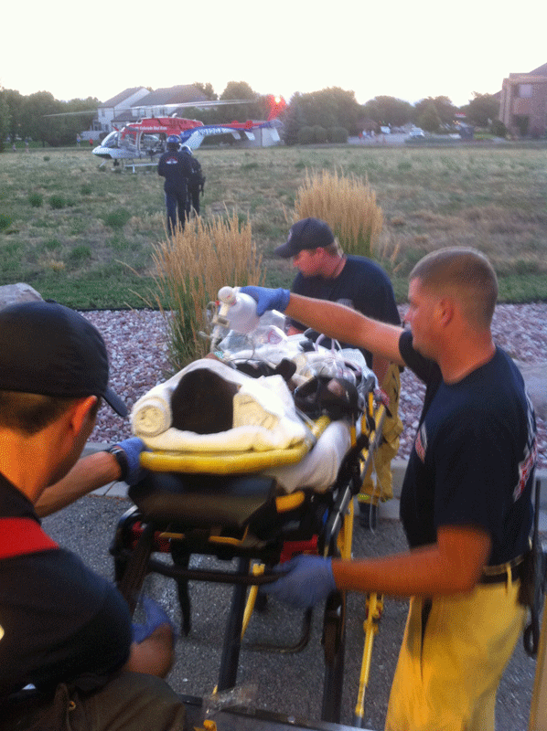 2011 shooting Harkless, Rohde, Shockey, Hurst taking patient to waiting helicopter