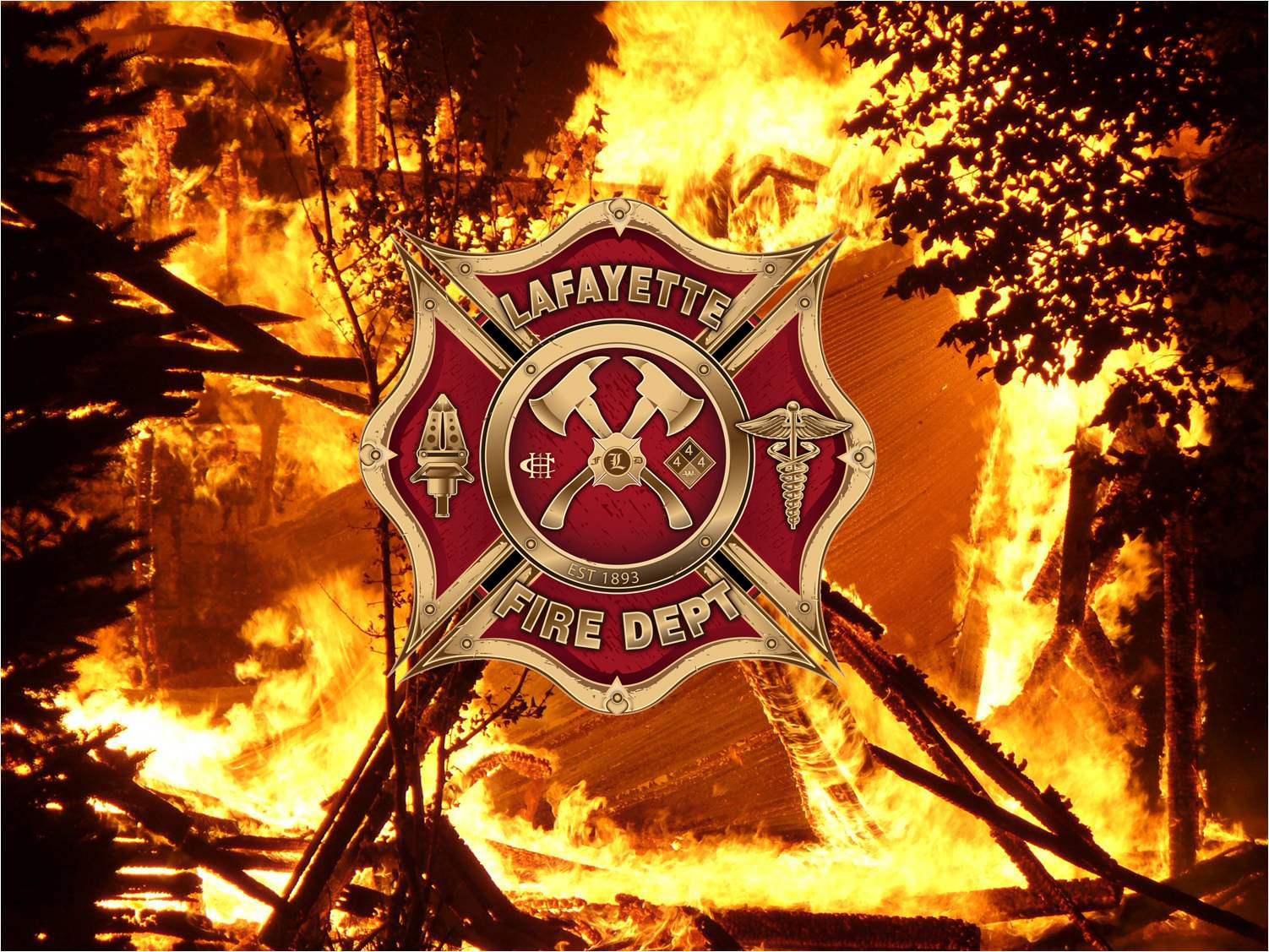 Lafayette Fire Department Logo