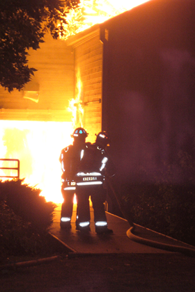 2007 boat house fire Krekora and Rohde making attack upclose