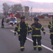 2012-mva- Adam Shockey, Paramedic Casey Brigham, and Neal Martin walking away from chopper after loading patient