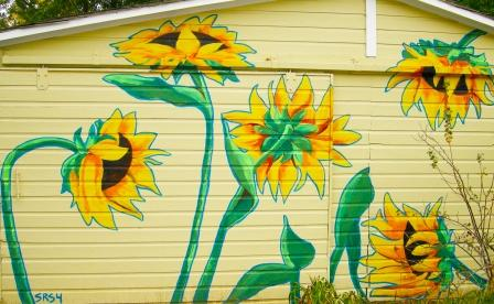 Sunflowers Mural