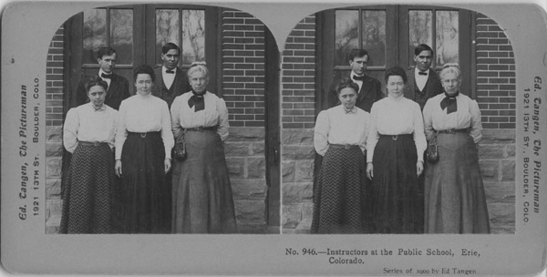 Instructors at the public school, Erie, Colorado