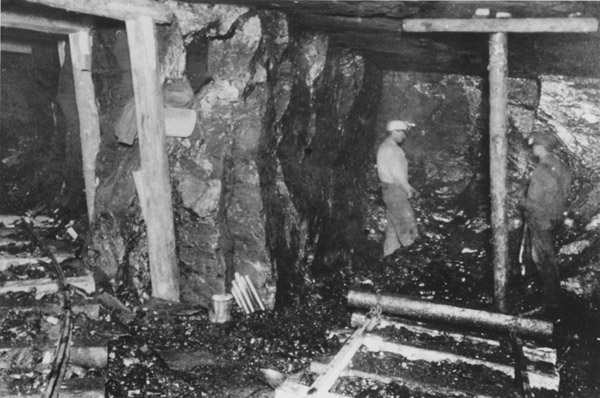 Black Diamond Mine interior