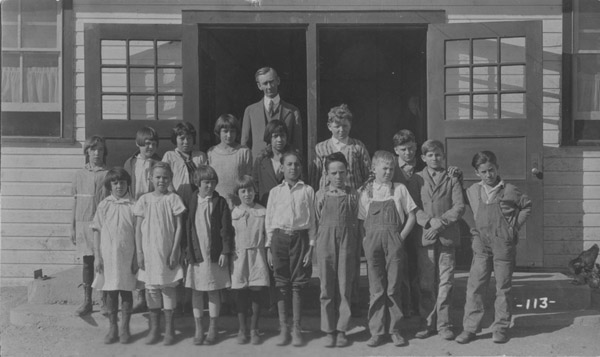 Columbine mine school, grades 1 - 6