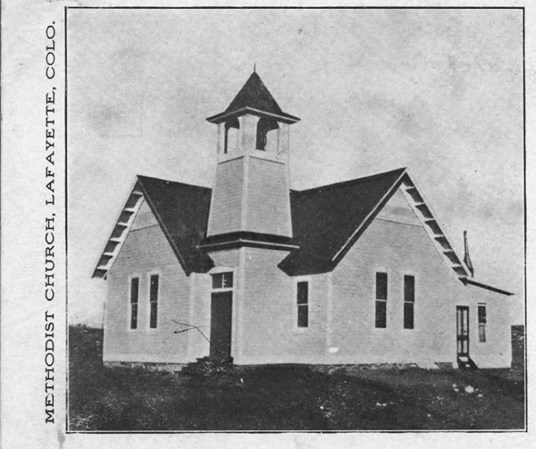 Methodist Church, Lafayette, Colo.