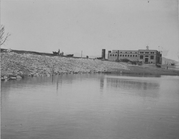 Construction completed on the Lafayette Power Plant and Plant Lake, 1906