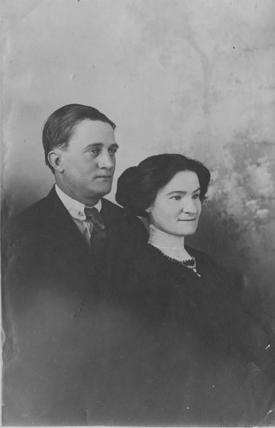 George Henry Stier and Euphemia Weir Stier, married August 20, 1907