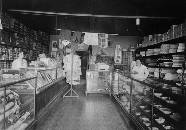Cousin's Store, interior, at 208 E. Simpson