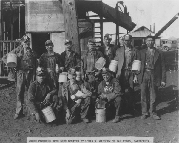 Coal miners over 60 years old - Columbine Mine