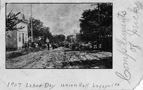 1907 Labor Day Parade