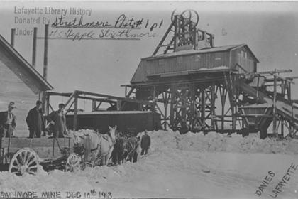 Strathmore Mine, Dec. 10th, 1913.