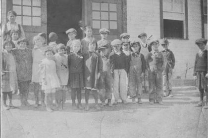 Columbine mine school, 1st and 2nd grades