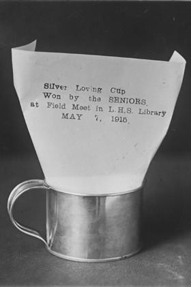 Silver loving cup