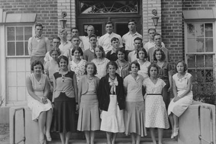 Lafayette High School class of 1933