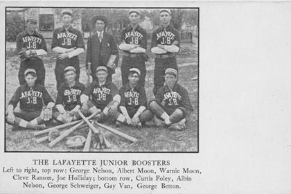 The Lafayette Junior Boosters