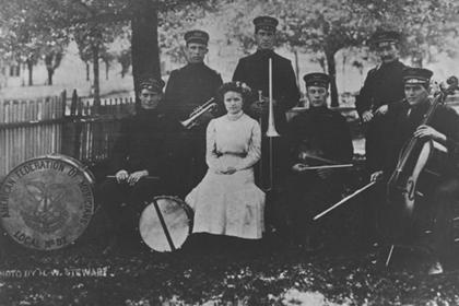 "Lafayette band, ""American Federation of Musicians Local no. 92"""