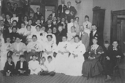 Pythian Sisters meeting in auditorium