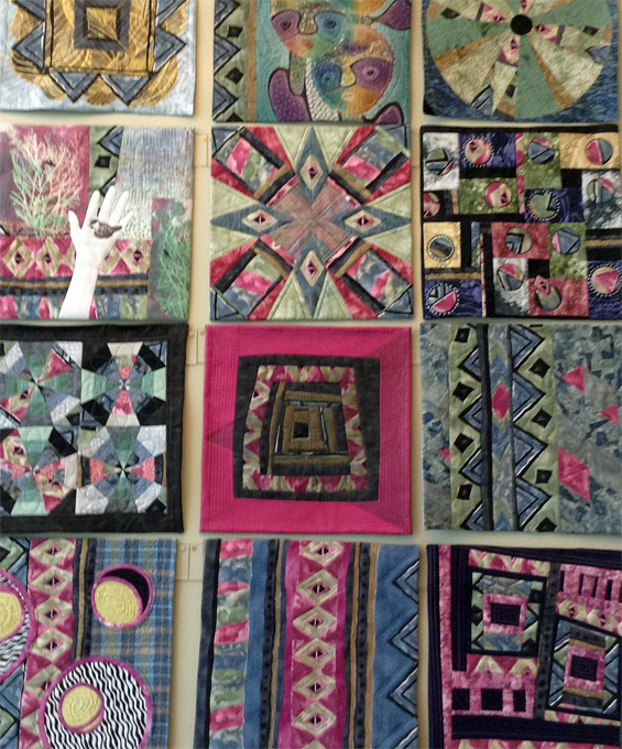 Boundless Fiber Artists' Wall Quilt