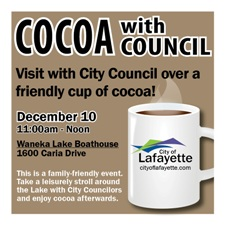 Dec 10 Cocoa event