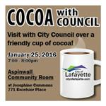 Cocoa with Council