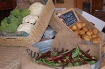 Produce at the Farm Stand at Thomas OS