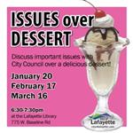 Issues over Dessert
