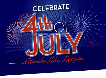Waneka Lake 4th of July