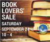 Book Sale Sept. 24