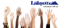 Volunteer with Lafayette