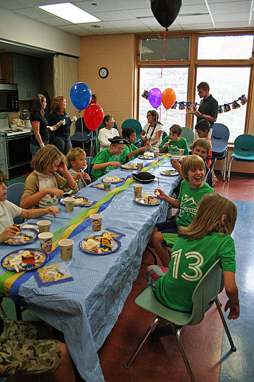 Birthday parties at the Recreation Center