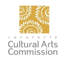 Lafayette Cultural Arts Commission logo