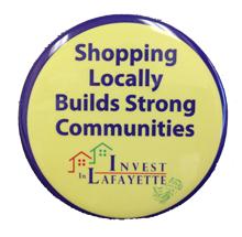 Invest in Lafayette button